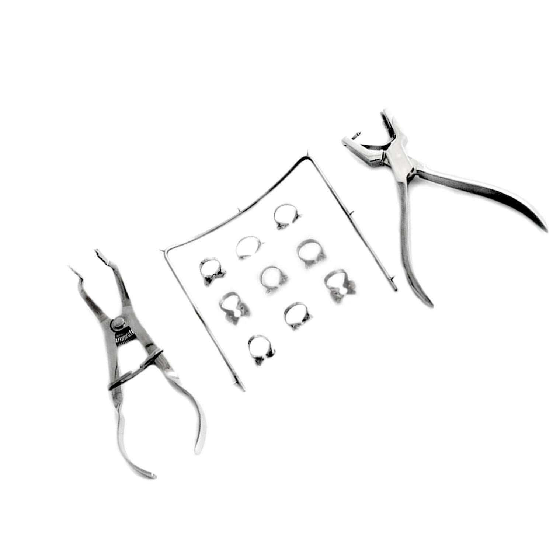 Starter Rubber Dam Kit of 11 Dental Surgical