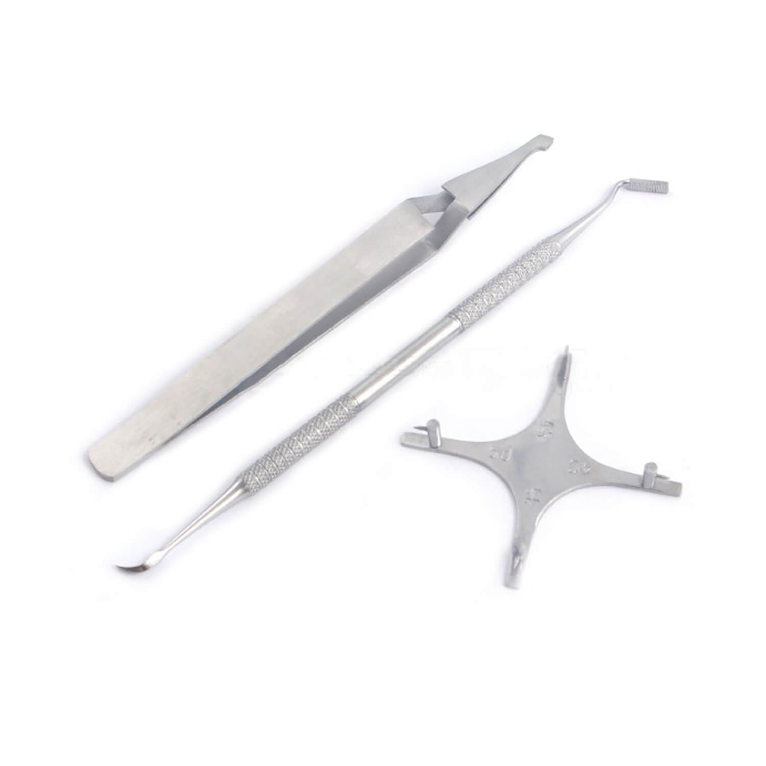 Bracket Holding Positioning Tweezers Band Pusher Scaler Orthodontic Instruments