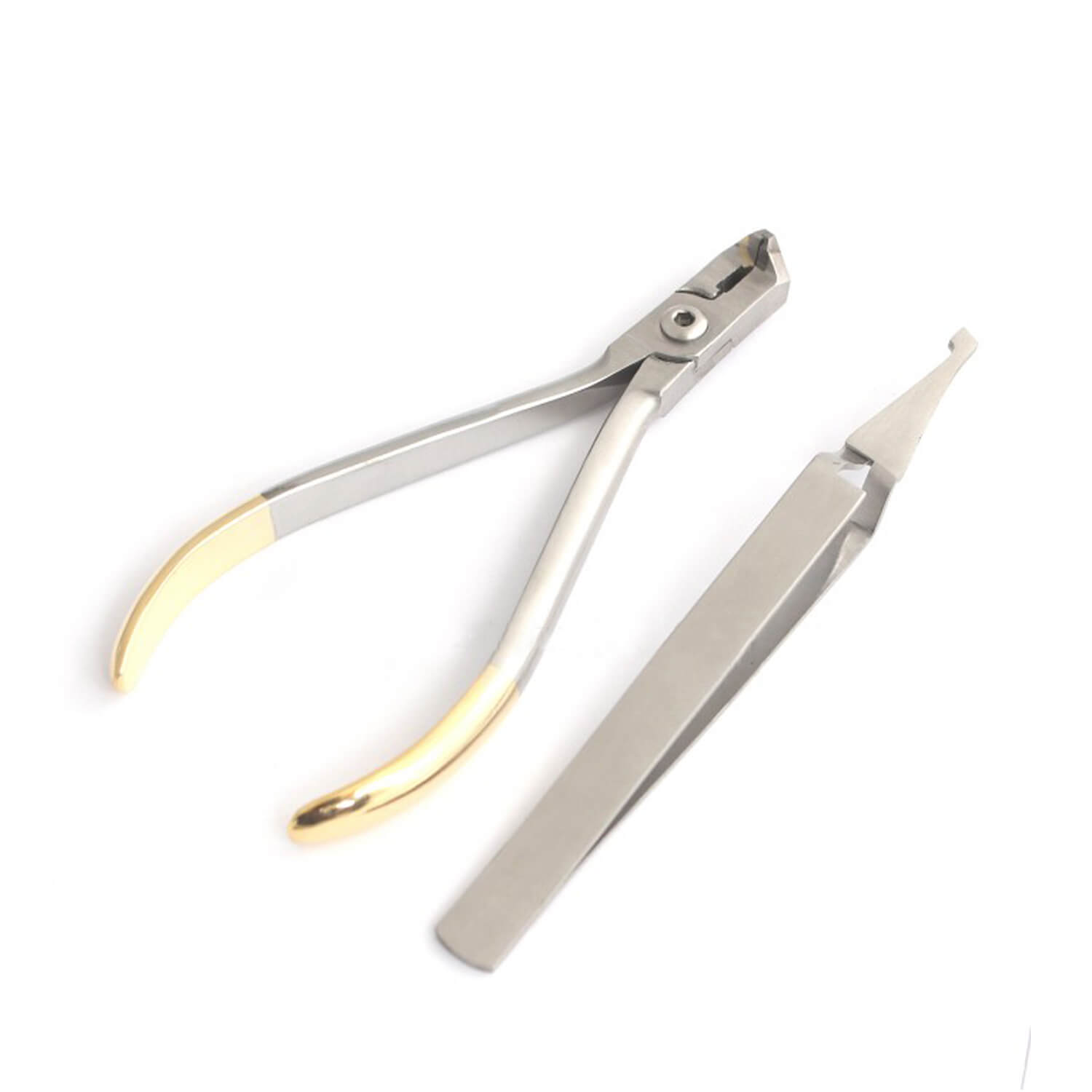 Dental Orthodontics Instruments Distal End Cutter Bracket Tweezers Kit Lab