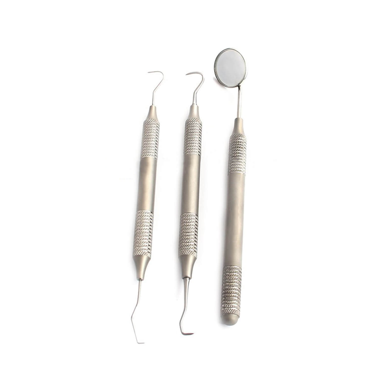 Dental Tarter Scraper And Remover Set Stainless Steel With Free Protective Packing
