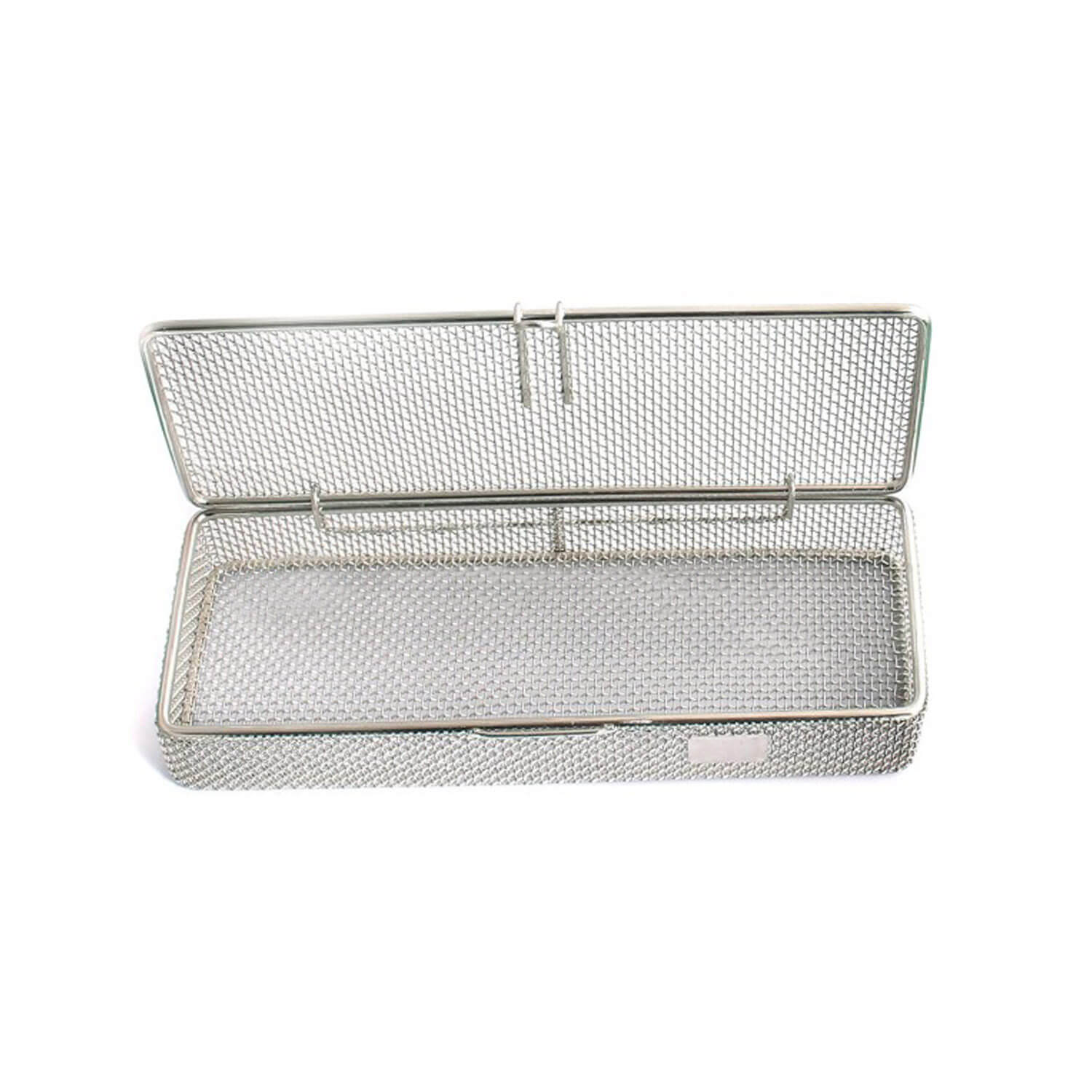 "Sterilization Cassette Tray 9"" X3"" X1"" Perforated Mesh Box Dn-312"