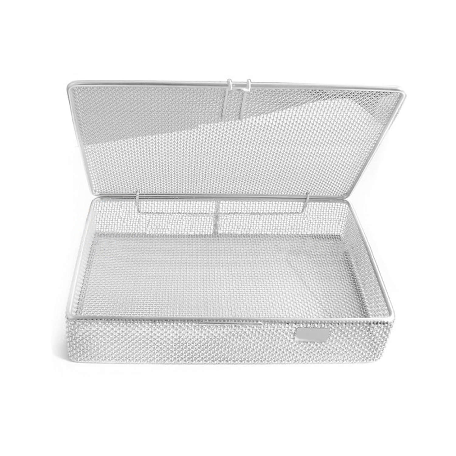 "Sterilization Cassette Tray 9"" X6.25"" X1.5"" Perforated Mesh Box Dn-313"