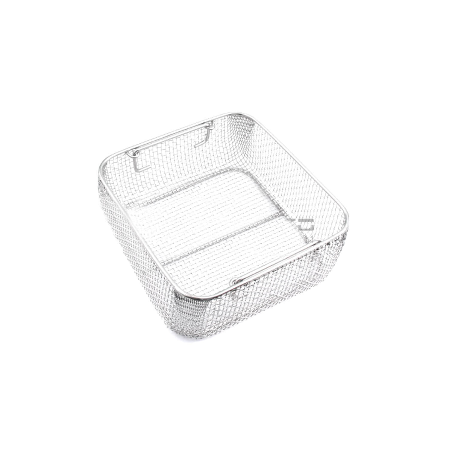 "Sterilizing Trays Micro Tray Drop Handle 10 X 9.5"" X 4"" Mesh Box Dn-320"